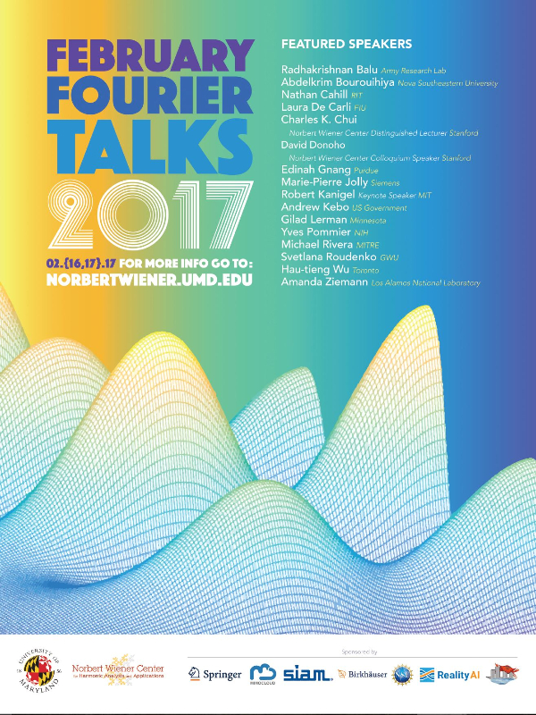 February Fourier Talks 2017